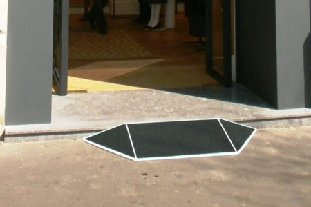 Making a luxury boutique accessible with the jetmarine fibreglass flared door threshold ramp