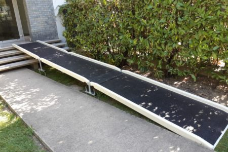 standard access ramp for a residential entry