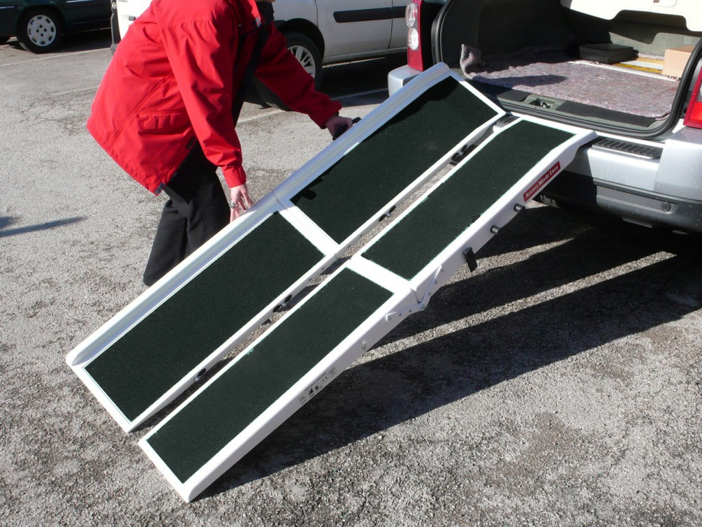 Split Scooter Ramps for easy lading of your wheelchair